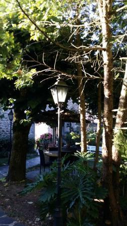 Hotel du Lion D'Or Restaurant : Toujours la terrasse
