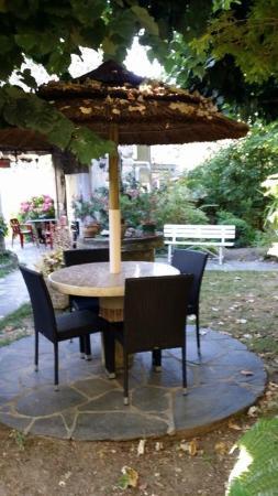 Hotel du Lion D'Or Restaurant : La terrasse