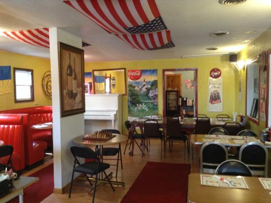 Bridgeview Diner Interior