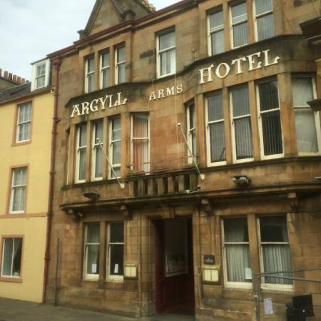 Argyll Arms Hotel, Campbeltown, Scotland