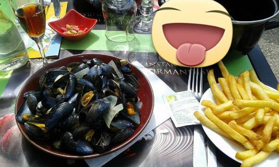 Brasserie Le Tropical: moules frites