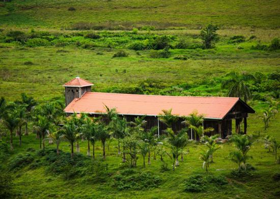 Hacienda Moravia de Chirripo: La Iglesia de la Hacienda