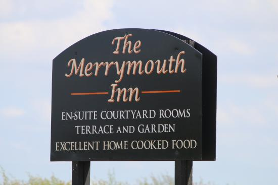 Merrymouth Inn: Sign