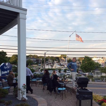 Cape Cod Harbor House Inn : Pre-fireworks 4th of July 2015