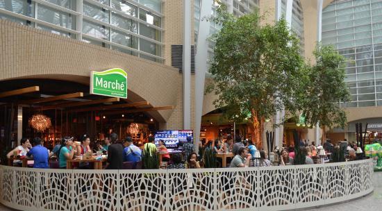 Marche Movenpick: Marché Restaurants Canada Indoor Patio