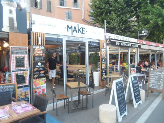 Le restaurant sur le port de la ciotat photo de make la ciotat tripadvisor - Restaurant port la ciotat ...