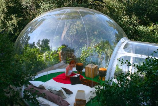 Love nature bubble photo de attrap 39 r ves allauch tripadvisor Attrap reves hotel