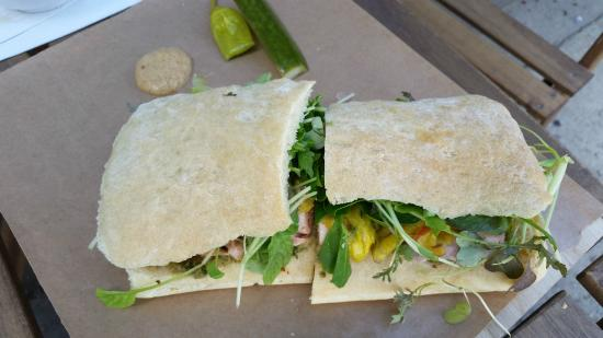 Riversdale Delicatessen and Market: Sandwich