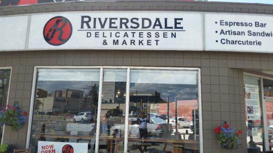 Riversdale Delicatessen and Market: Deli Front