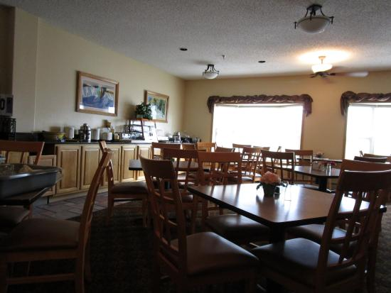 BEST WESTERN Vista Inn: Breakfast Area