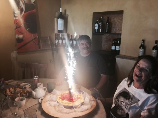 Montespertoli, Włochy: We LOVE the Osteria del Tempo Perso!!!