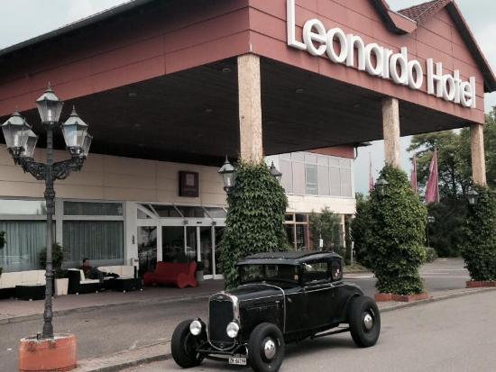 Leonardo Hotel Heidelberg-Walldorf: Der Eingangsbereicht