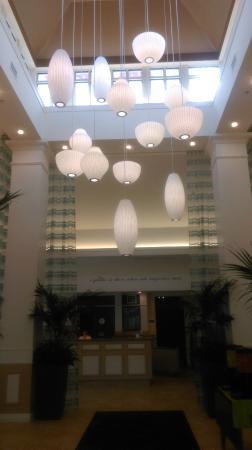 Hilton Garden Inn Auburn/Opelika : Lobby area...Nice!