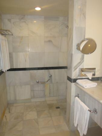 Grand Bahia Principe Jamaica No Shower Curtain Or Glass Enclosure For The