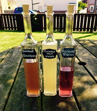The Cherry Tree: Home infused spirits!