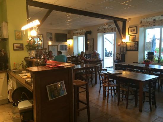 Chardonnay, Frankrike: autre partie de la salle