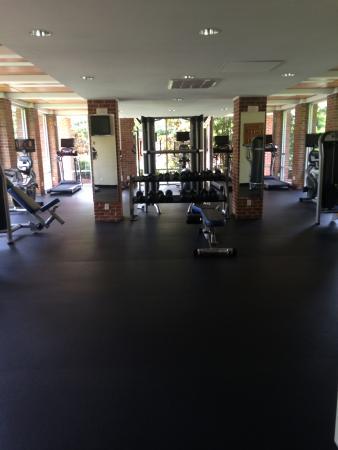 University, MS: fitness center