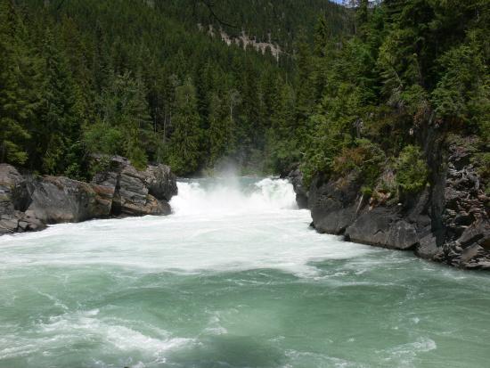 Fraser Lake, Kanada: Overlander Falls