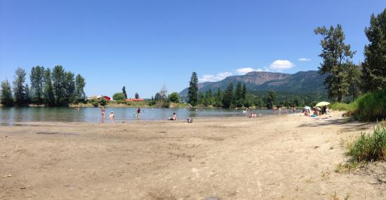 The beach at Enderby
