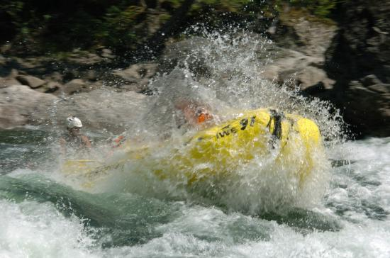 Interior Whitewater Expeditions - Day Tours: getting wet