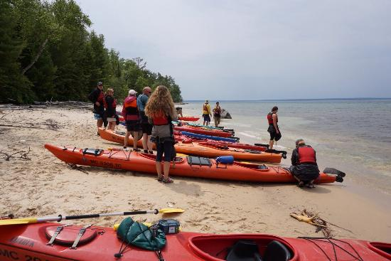 Northern Waters Adventures: Day trip. The beach photo is the lunch stop.