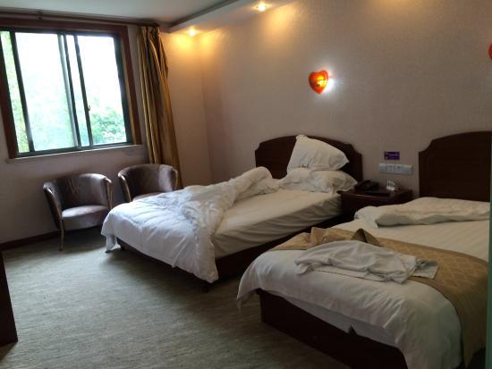 Super 8 Shanghai Pudong Airport Chenyanglu: Hotel room