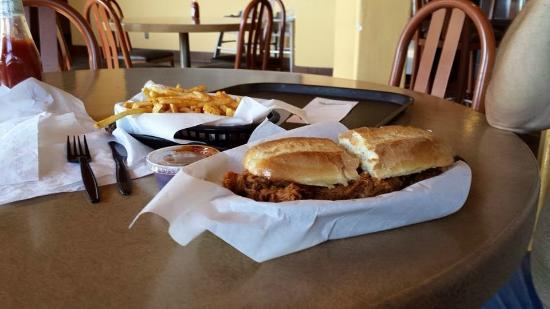 Main Street Grill: The Pig BBQ Pork.