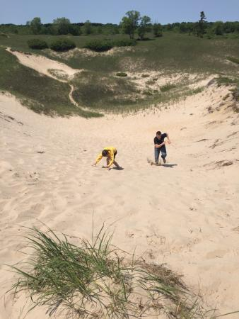 Kohler-Andrae State Park : Sand in the shoes... It's a beautiful thing!!