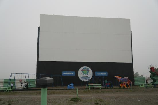 screen 1 picture of the 5 drivein theatre oakville