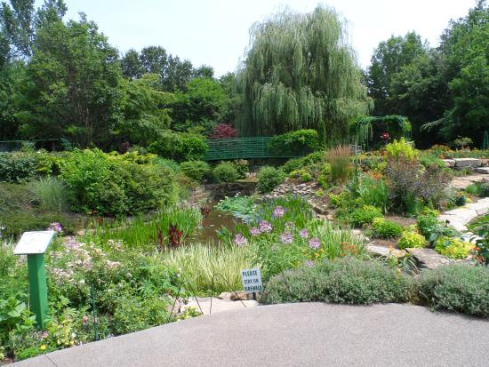 The Monet Garden Picture Of Overland Park Arboretum And Botanical Gardens Overland Park