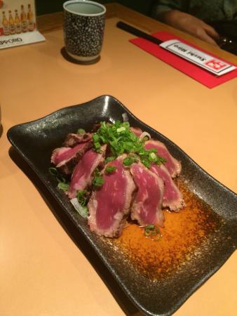 Sushi Hiro Japanese Restaurant : 牛たたき