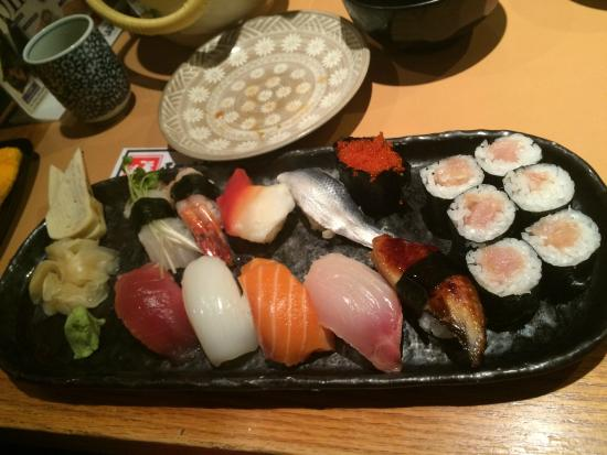Sushi Hiro Japanese Restaurant : 寿司にぎり特上