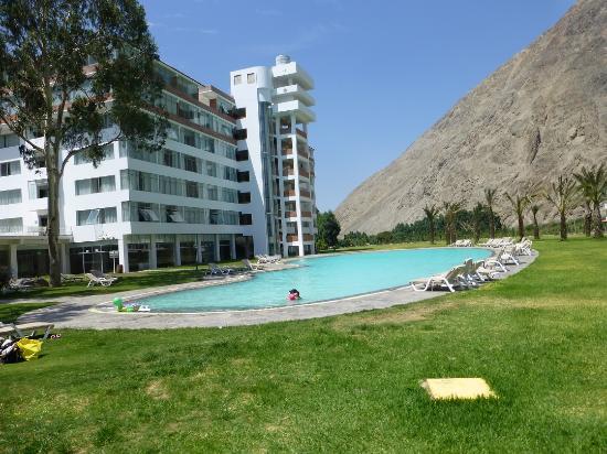 Foto de hacienda hotel guizado portillo pacar n palta for Piscinas portillo