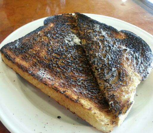 Plank House Restaurant: Crisp?