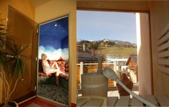 Hotel Garni Erlbacher: Sauna