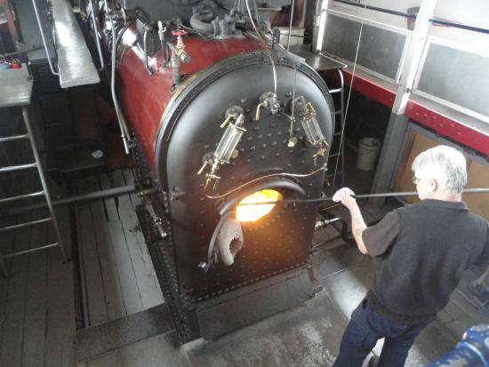 PS Melbourne: The Steamers boiler