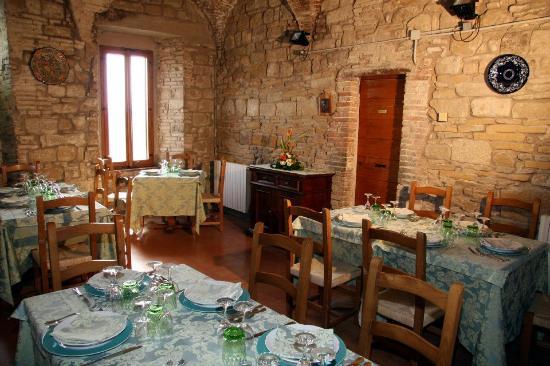 Ristorante Rocca del Borgia: sala ristorante