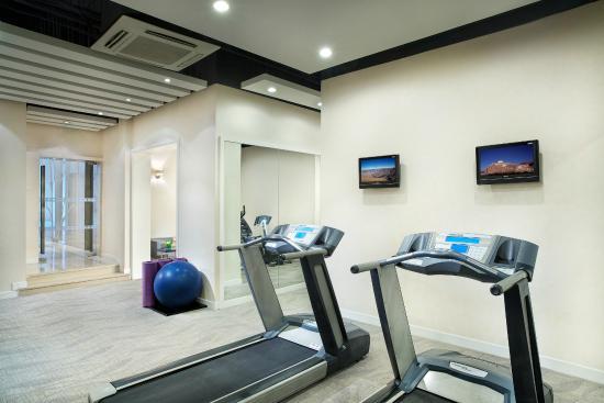Shama Shanghai Xujiahui Serviced Apartment : Gym