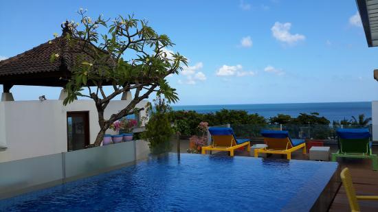 Best Western Kuta Beach Roof Top Pool
