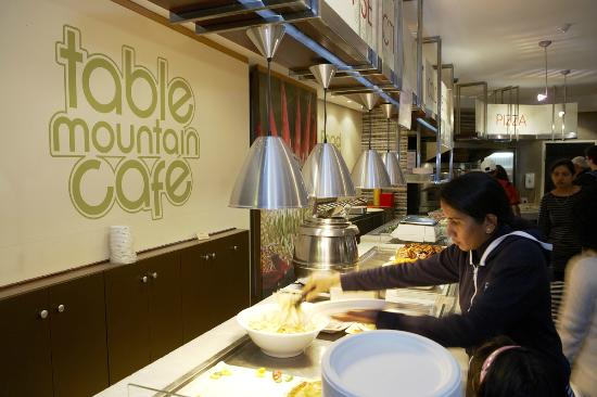 Our Cafe is a self-service restaurants - Picture of Table Mountain ...