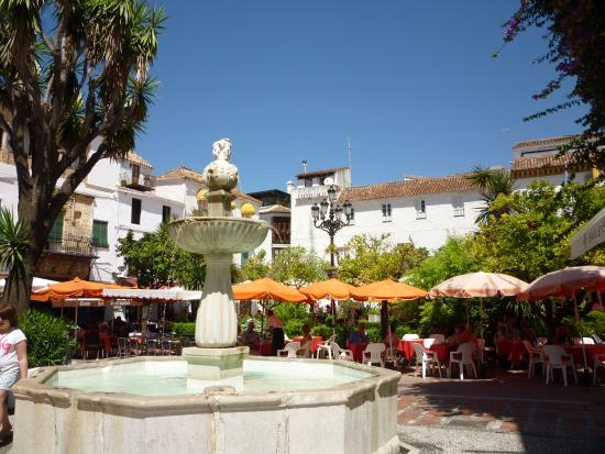 Andalusia, Spanyol: la place