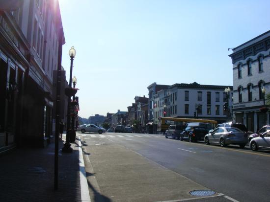 The Georgetown Inn: la zona dell'hotel