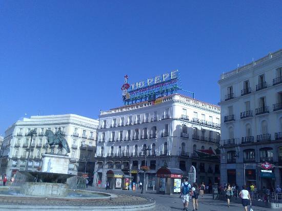 Edificio T O Pepe Fotograf A De Puerta Del Sol Madrid