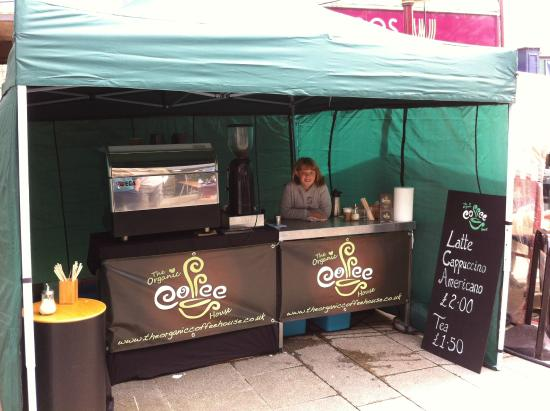 The Organic Coffee House: Outside catering events