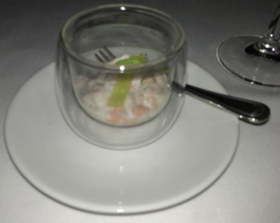 Amuse bouch picture of sails restaurant auckland for Amuse bouche cuisine