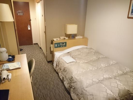 Kuji Grand Hotel : ベッド