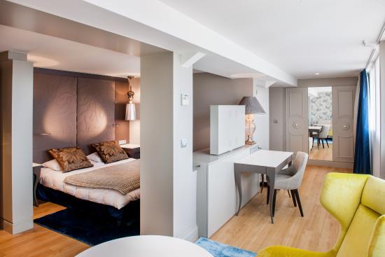 Grand Hotel Gallia Londres : Junior suite de luxe