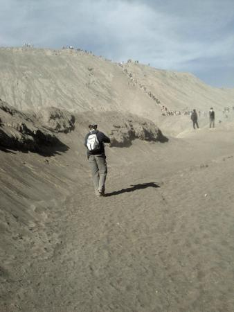 OURTRIP1st - Day Tours: Climbing Bromo to see the crater!