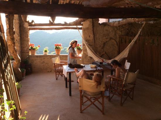Gotarta, Spanje: relaks na tarasie