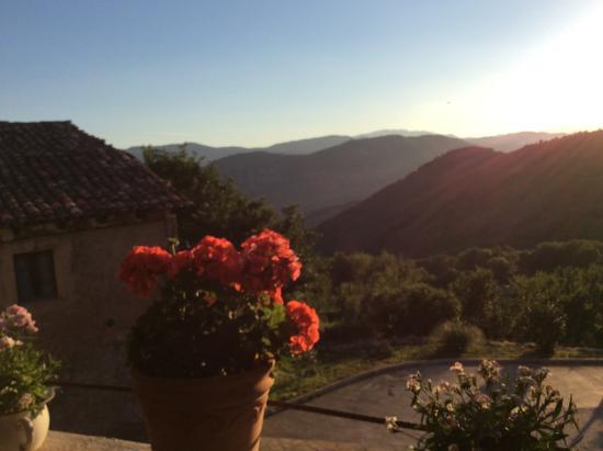 Gotarta, Spanje: Z tarasu